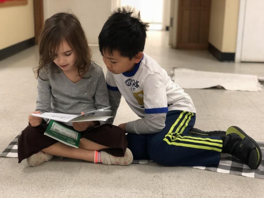 reading buddies