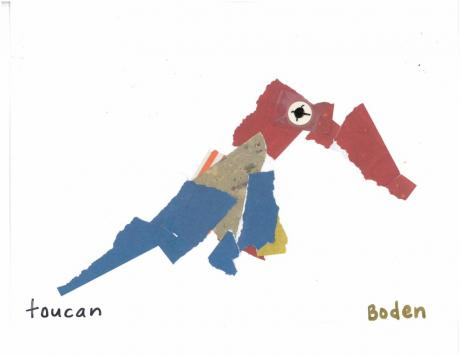 Eric Carle collage