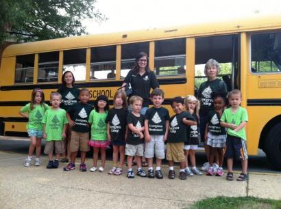 summer camp bus